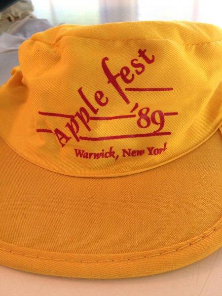 1989 Applefest hat
