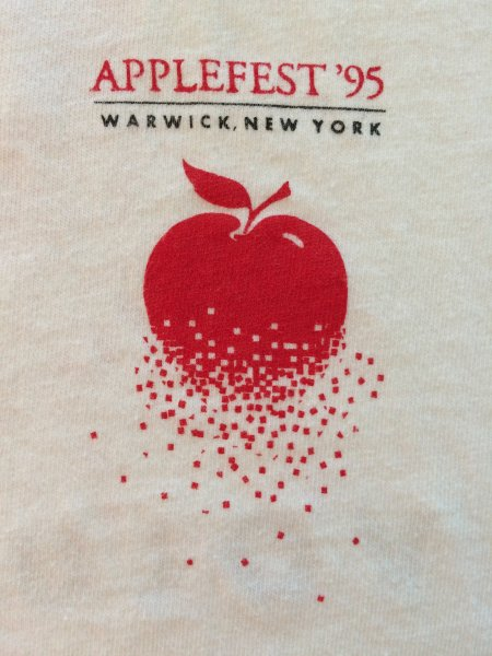 1995 Applefest t-shirt