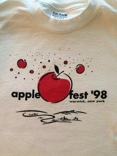 1998-Applefest t-shirt