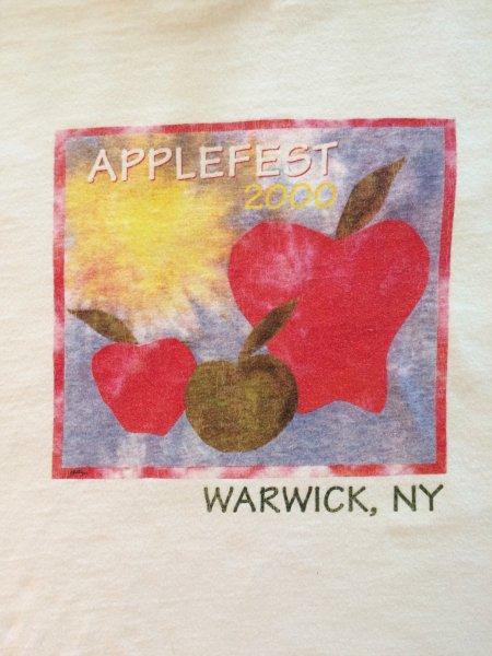2000 Applefest t-shirt