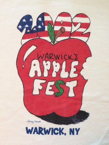 2002 Applefest t-shirt