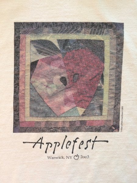 2003 Applefest t-shirt