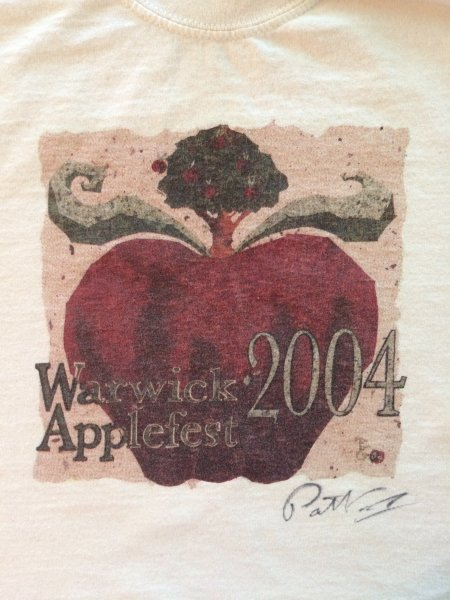 2004 Applefest t-shirt