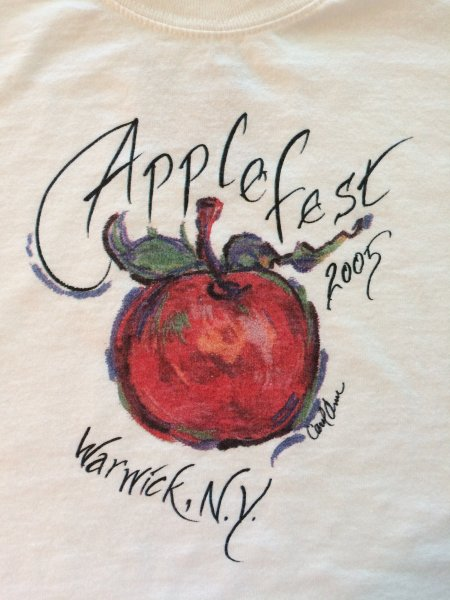 2005 Applefest t-shirt