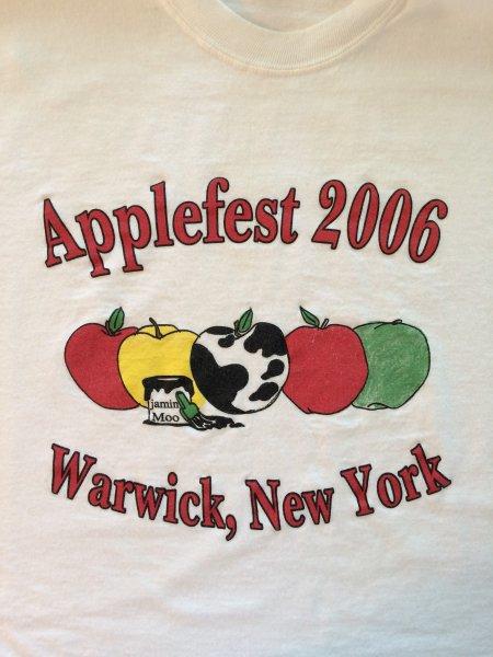 2006 Applefest t-shirt