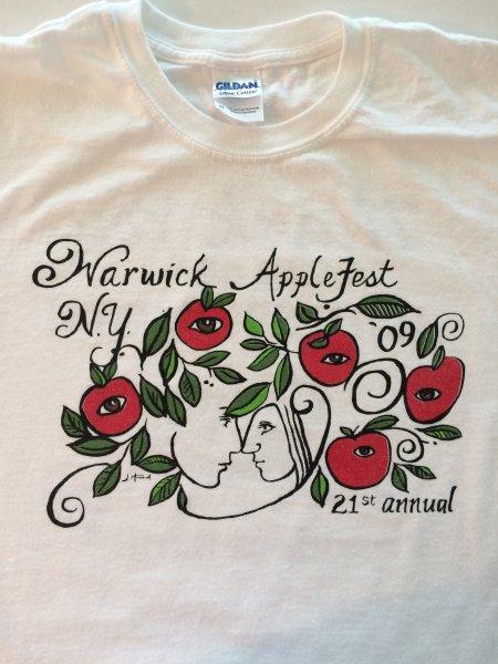 2009 Applefest t-shirt