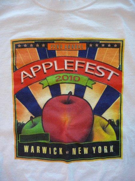 2010 Applefest t-shirt