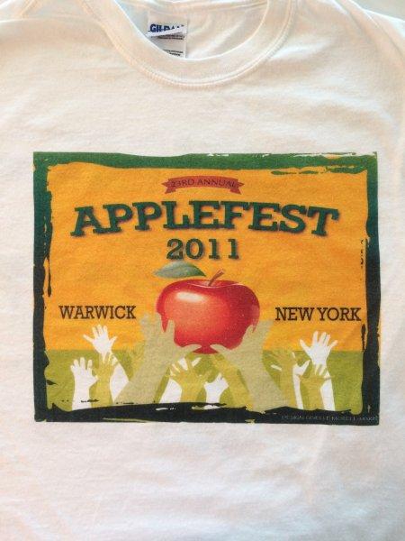 2011 Applefest t-shirt