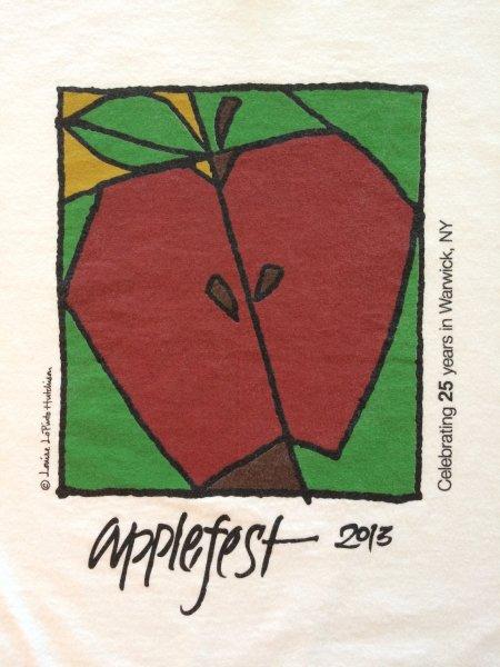 2013 Applefest t-shirt