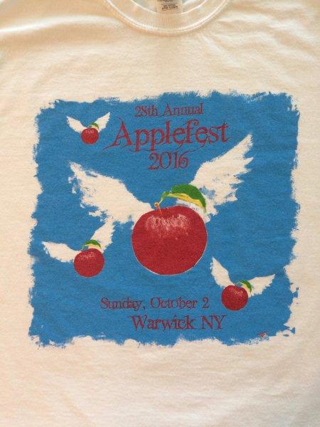 2016 Applefest t-shirt