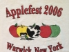 2006 Applefest t-shirt