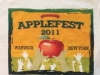 2011 Applefest t-shirt