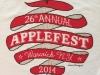 2014 Applefest t-shirt